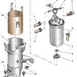 Как заменить топливный насос на 7,3 дизель