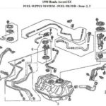 Как заменить топливный насос в Honda Accord 1993 года