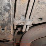 Как заменить тормозную магистраль в Dodge Caravan
