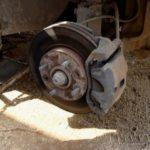 Как заменить тормозные колодки на Mitsubishi Lancer
