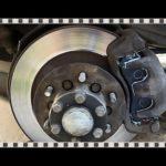 Как заменить тормозные колодки на Montero
