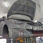 Как заменить тормозные огни Hyundai Elantra