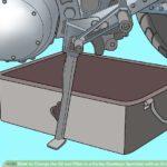 Как заменить трансмиссионное масло на двигателе Harley Davidson Evolution