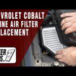Как заменить воздушный фильтр Chevy Cobalt