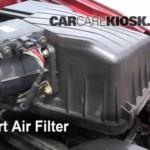 Как заменить воздушный фильтр на 2006 Sebring