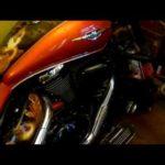 Как заменить воздушный фильтр на Suzuki Intruder