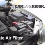 Как заменить воздушный фильтр на Toyota Avalon