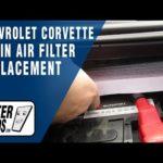 Как заменить воздушный фильтр в Chevy Corvette