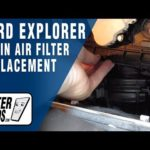 Как заменить воздушный фильтр в Ford Explorer