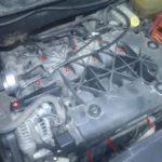 Как заменить впускной коллектор в Dodge Caravan
