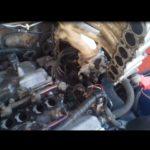 Как заменить впускной коллектор в Nissan Pathfinder