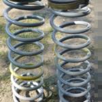 Как заменить задние спиральные пружины