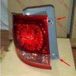 Как заменить задний фонарь в Buick LeSabre