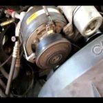 Как заменить Змеиный Пояс на Chevy Silverado 1990 года