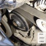 Как заменить змеиный ремень в Toyota Highlander V6 2001 года