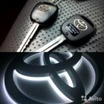 Как запрограммировать ключ зажигания Toyota