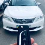 Как запрограммировать Toyota Corolla Key 2009
