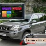 Как запустить провода усилителя на Nissan Titan