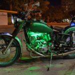 Как зашлифовать и покрасить мотоцикл