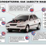 Как завести автомобиль с замерзшей газовой магистрали
