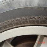 Какие шины подходят для Astro Van?