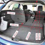 Каковы размеры грузового пространства для Mazda 5?