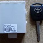 Ключ Toyota не зажигается