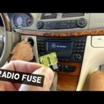 Проблемы с радио Mercedes S430