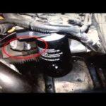 Расположение датчика коленвала Chevrolet 3.1 V6