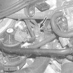 Расположение датчика температуры охлаждающей жидкости на Honda Accord 1995 года
