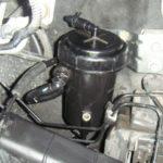 Расположение топливного фильтра в Express Chevy 3500