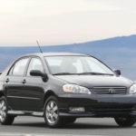 Различия в Toyota Corollas с 2005, 2006 и 2007