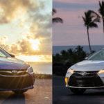 Разница между Toyota SE & LE