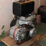 Самодельный дизельный генератор