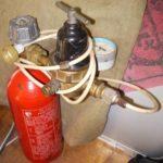 Самодельный сифон для газа