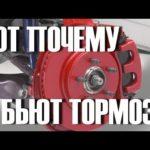 Симптомы деформированного тормозного ротора