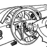 Снятие рулевой колонки Chevrolet Truck