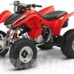 Технические характеристики для Honda 300EX
