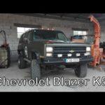Технические характеристики выравнивания Chevy S-10 Blazer
