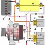 Типичная проводка генератора