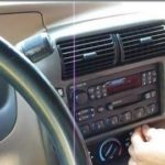 Удаление Ford Escort Radio