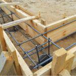 Установка бетонной опалубки