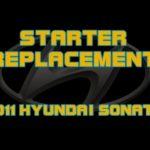 Устранение проблем стартера с Hyundai Sonata