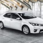 Значение крутящего момента на колесе Toyota Corolla